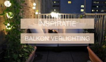 Inspiratie: Balkonverlichting